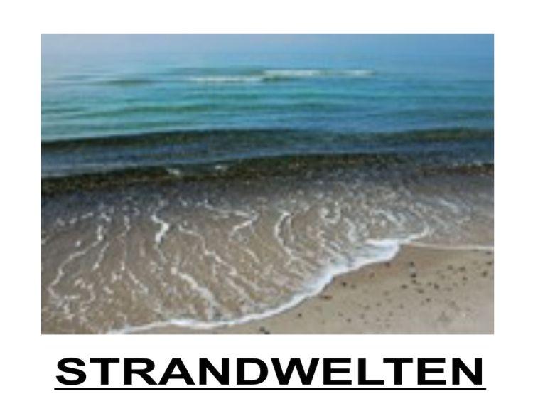 Strandwelten - eine Ausstellung im Frauentreff Sundine